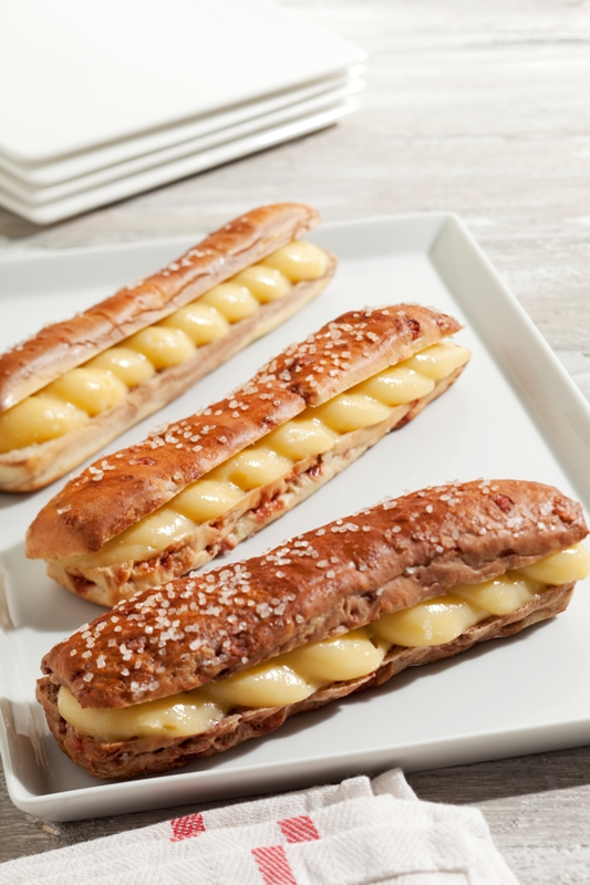 Gevulde Theeclairs