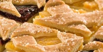 Abrikozen Linzerstukjes