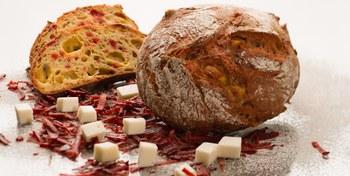 Bieten Geitenkaasbrood