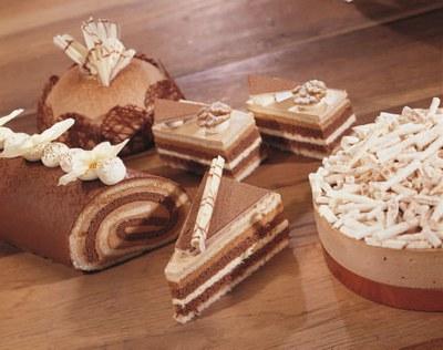 Cappuccino Desserttaartje met Zeesan Cappuccino