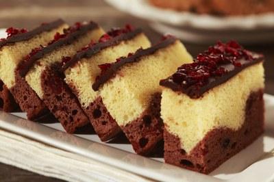 Cranberry Plaatcake