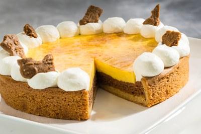 Crème Brûlée Speculaasvlaai