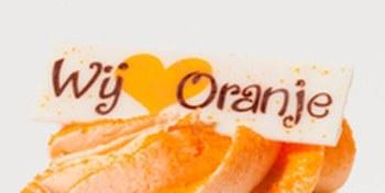 Cup Cake Oranje