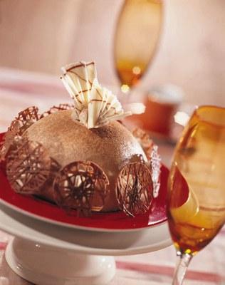 Dessertbol met Zeesan Cappuccino