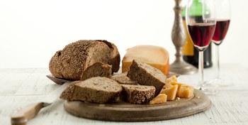 Gekookte Rogge/Notenbroodjes