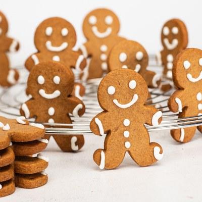 Gingerbreadman Cookies met Fantasy Kruiden Cake