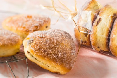 Hartenbroodje met Kwarkbroodmix