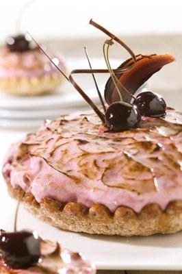 Kersenschuim Dessertschelp met Fruitful Cherry en Bianca