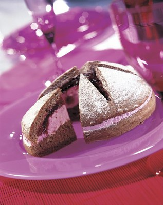 Kersenstertaart met Zeesan Yoghurt Kers