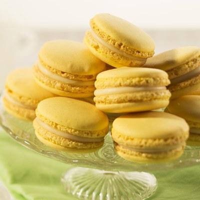 Macarons Citroen