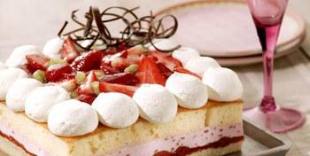 Moederdag Aardbeientaart met Zeesan Strawberry