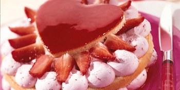 Moederdagtaart met Zeesan Strawberry