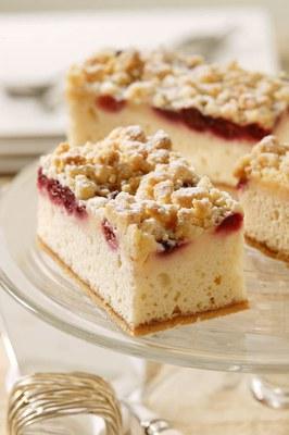 Plaatcake Cranberry Kruimel