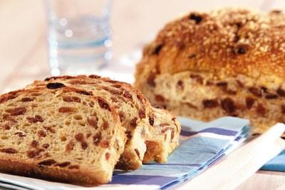 Rozijnen-Maisbroodje met Fiesta Panovite Mais